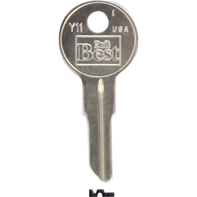 Do it Best Yale Nickel Plated House Key, Y11 (10-Pack)