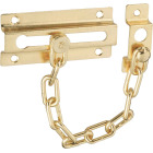 National Brass Steel Chain Door Lock Image 1