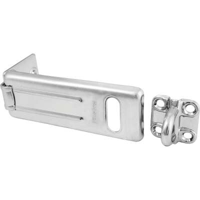 Master Lock 4-1/2 In. Steel Safety Hasp