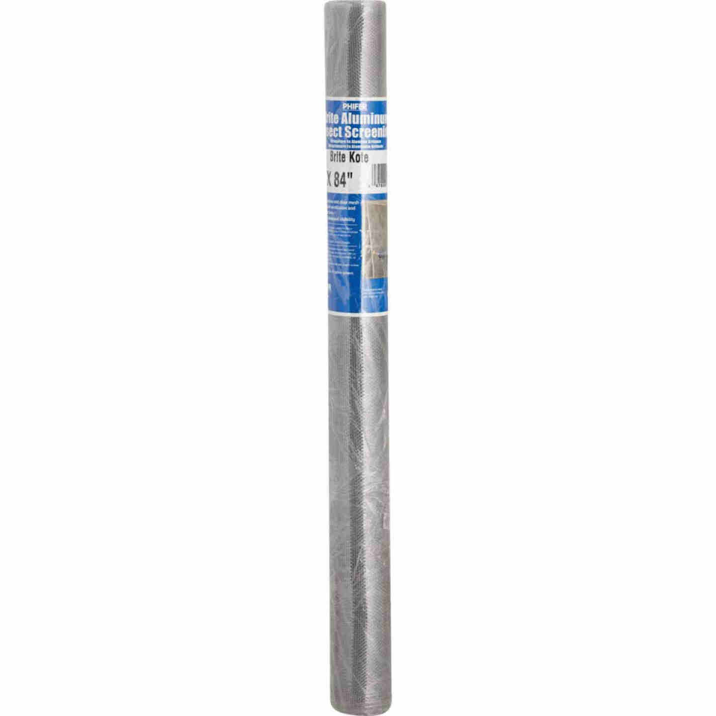 Phifer 24 In. x 84 In. Brite Aluminum Screen Ready Rolls Image 2
