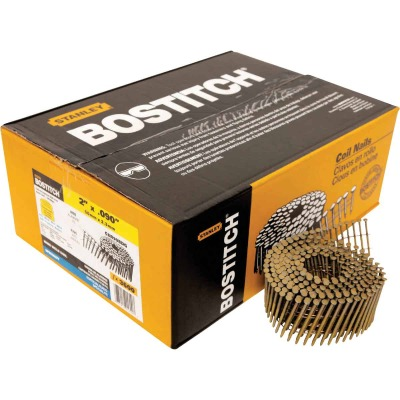 Bostitch 15 Degree Wire Weld Galvanized Coil Siding Nail, 2 In. x .092 In. (3600 Ct.)