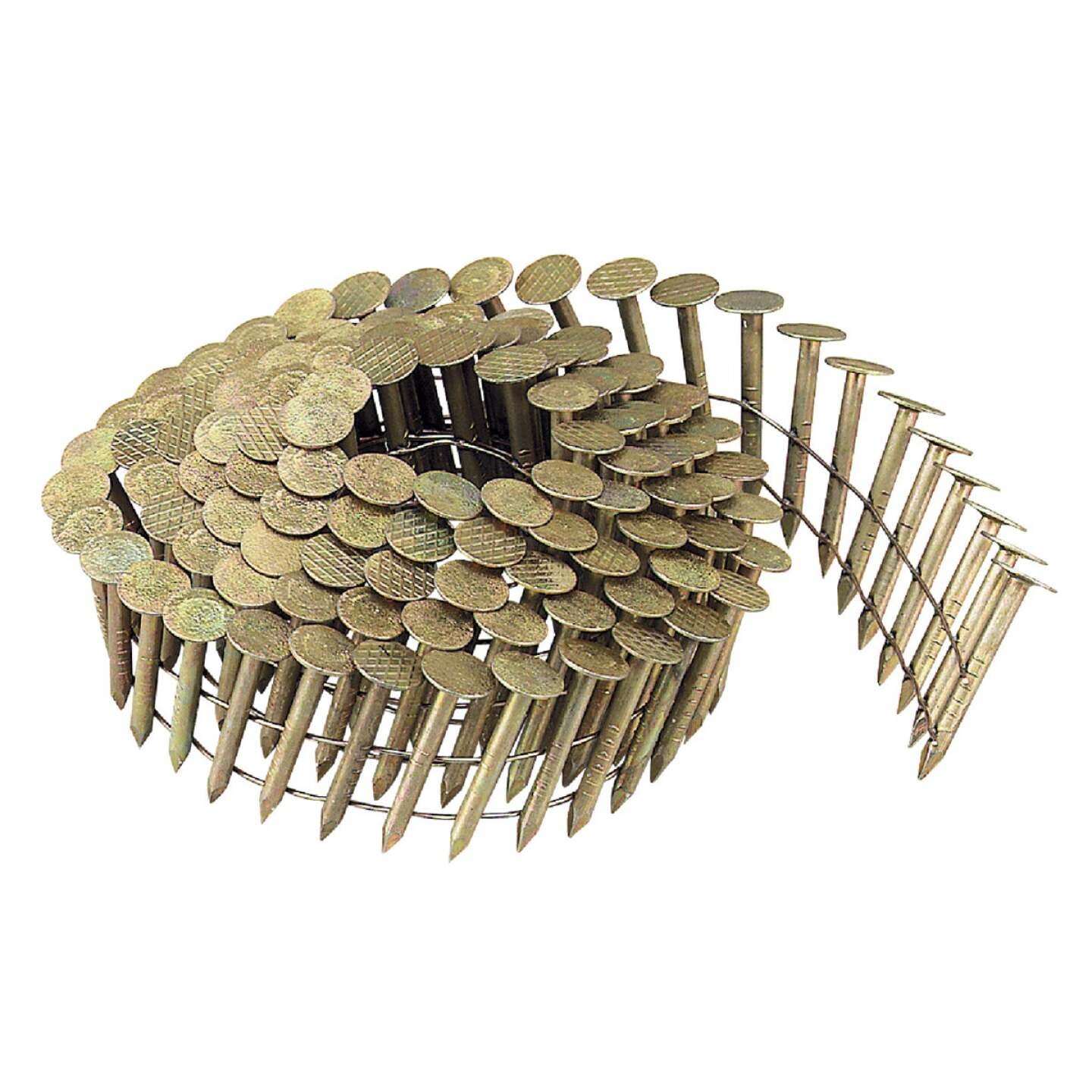 Bostitch 15 Degree Wire Weld Galvanized Coil Roofing Nail, 1 In. x .120 In. (7200 Ct.) Image 1