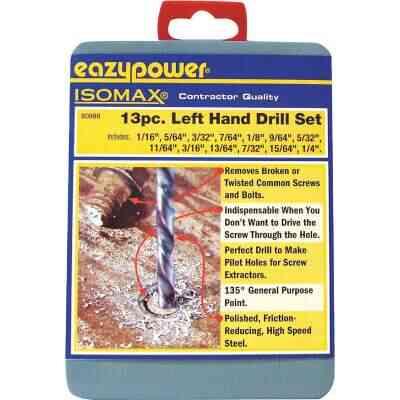Eazypower Left Hand Drill Bit Set (13-Pieces)