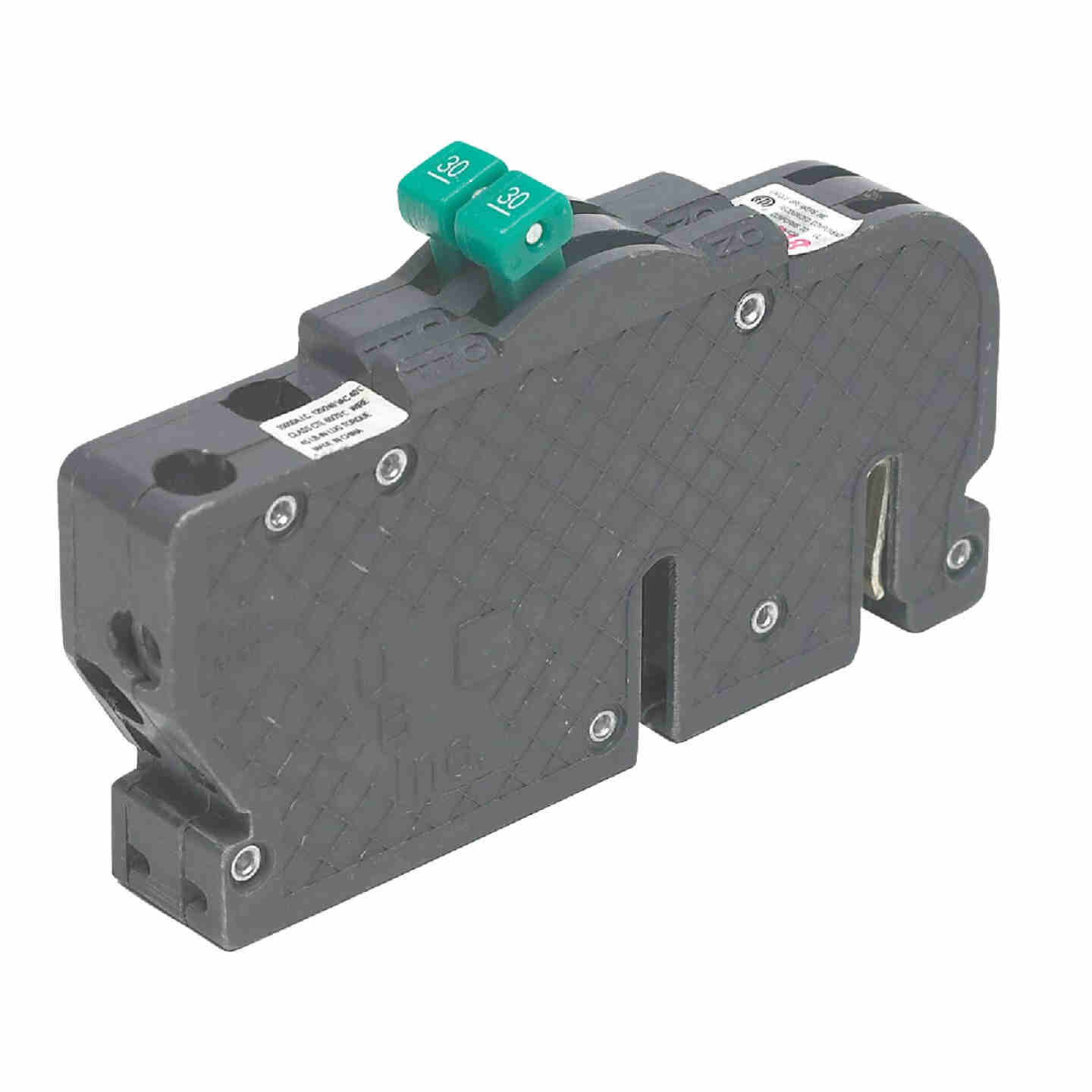 Connecticut Electric 60A/60A Twin Single-Pole Standard Trip Packaged Replacement Circuit Breaker For Zinsco Image 1