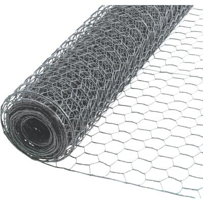 1 In. x 72 In. H. x 50 Ft. L. Hexagonal Wire Poultry Netting
