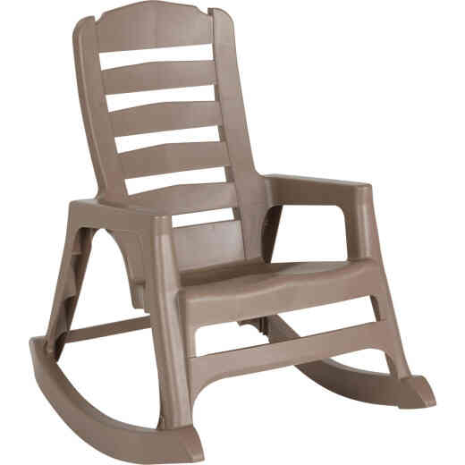 Big Easy Portobello Resin Stackable Rocking Chair